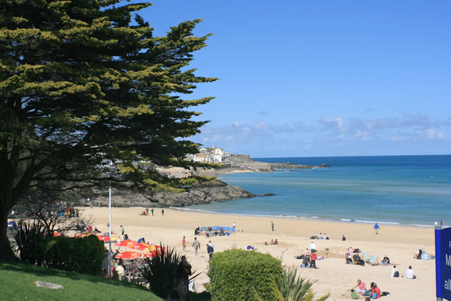 Porthmeor and Porthminster, St Ives, Cornwall Beach